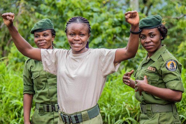 Women Ranger in Virunga